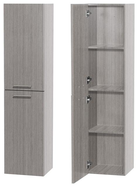 Bailey Bathroom Wall-Mounted 2-Door Storage Cabinet - Contemporary .