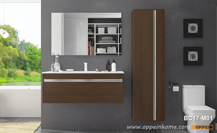 Melamine Wall Mounted Bathroom Cabinet BC17-M01- OPPEIN | The .