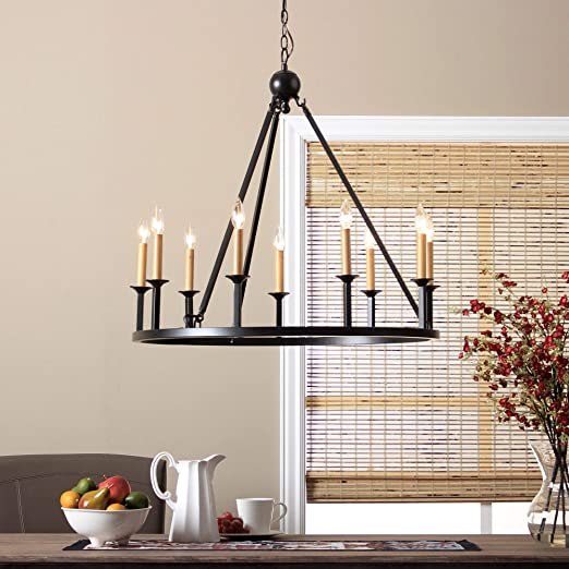 Amazon.com: Rustic Chandelier Lighting Great For High And Low .