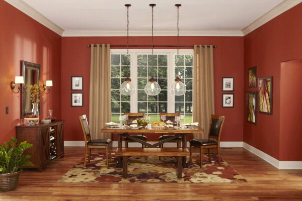Pin by Lowe's on allen + roth® | Dining room colors, Living room .