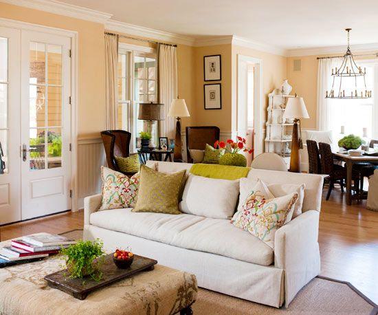 Living Room Color Schemes   Warm living room colors, Living room .