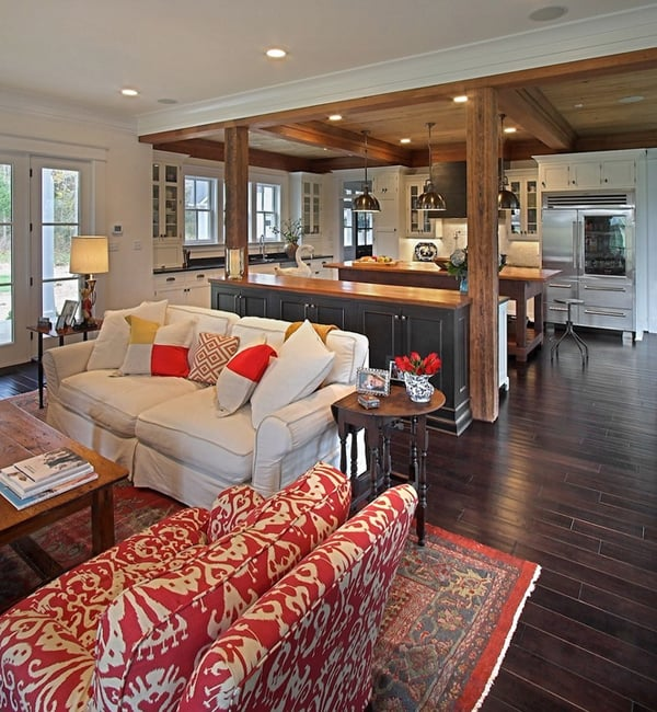 43 Cozy and warm color schemes for your living ro