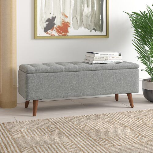 George Oliver Dietz Upholstered Storage Bench & Reviews | Wayfair .