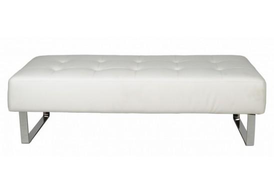 Lush White Modern Bedroom Bench | Contemporary Bedroom Ben