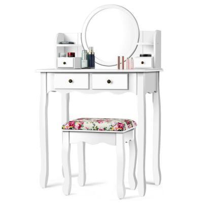 White - Makeup Vanities - Bedroom Furniture - The Home Dep