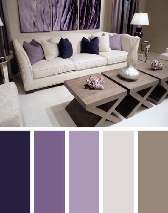 25+ Best Living Room Color Scheme Ideas and Inspirati