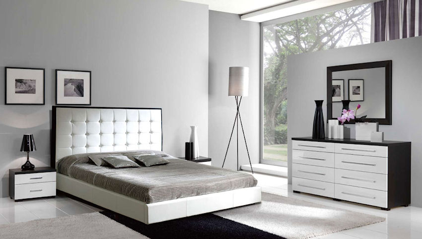 Luxury Home Design Furniture: Black Bedroom Se