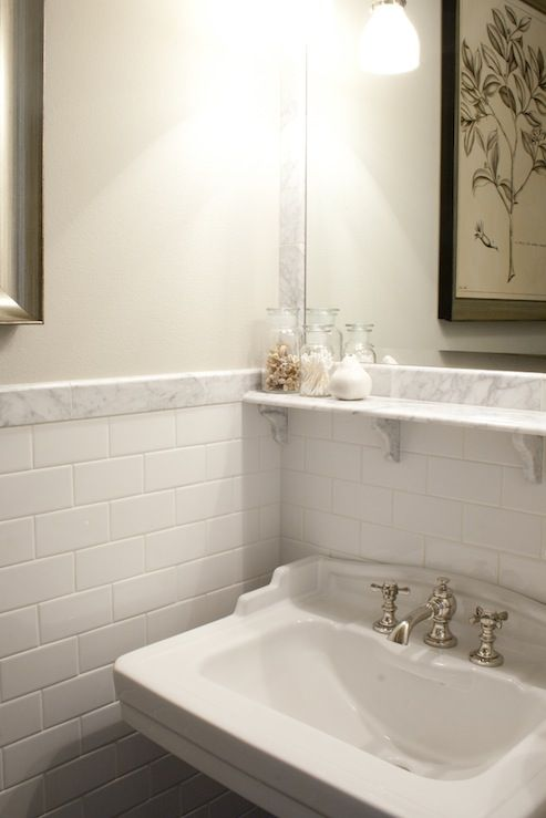 Image detail for -... subway tile backsplash, white subway tile .