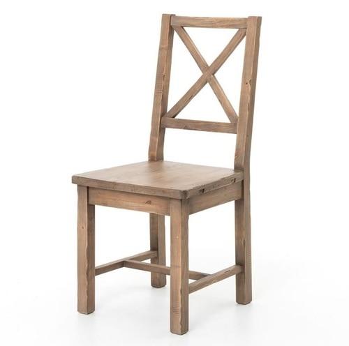 Coastal Rustic Reclaimed Wood Dining Room Chair | Zin Ho