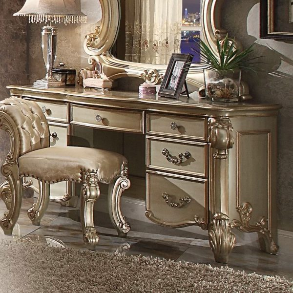 Bedroom Vanity with Drawers