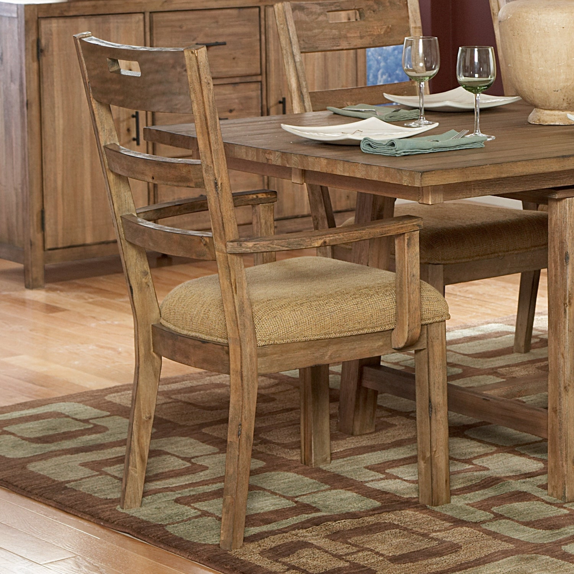 Dining Room Chairs with Arms