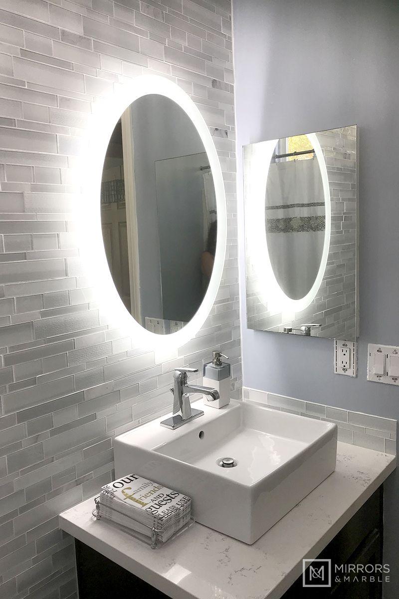 LED Bathroom Vanity Mirrors
