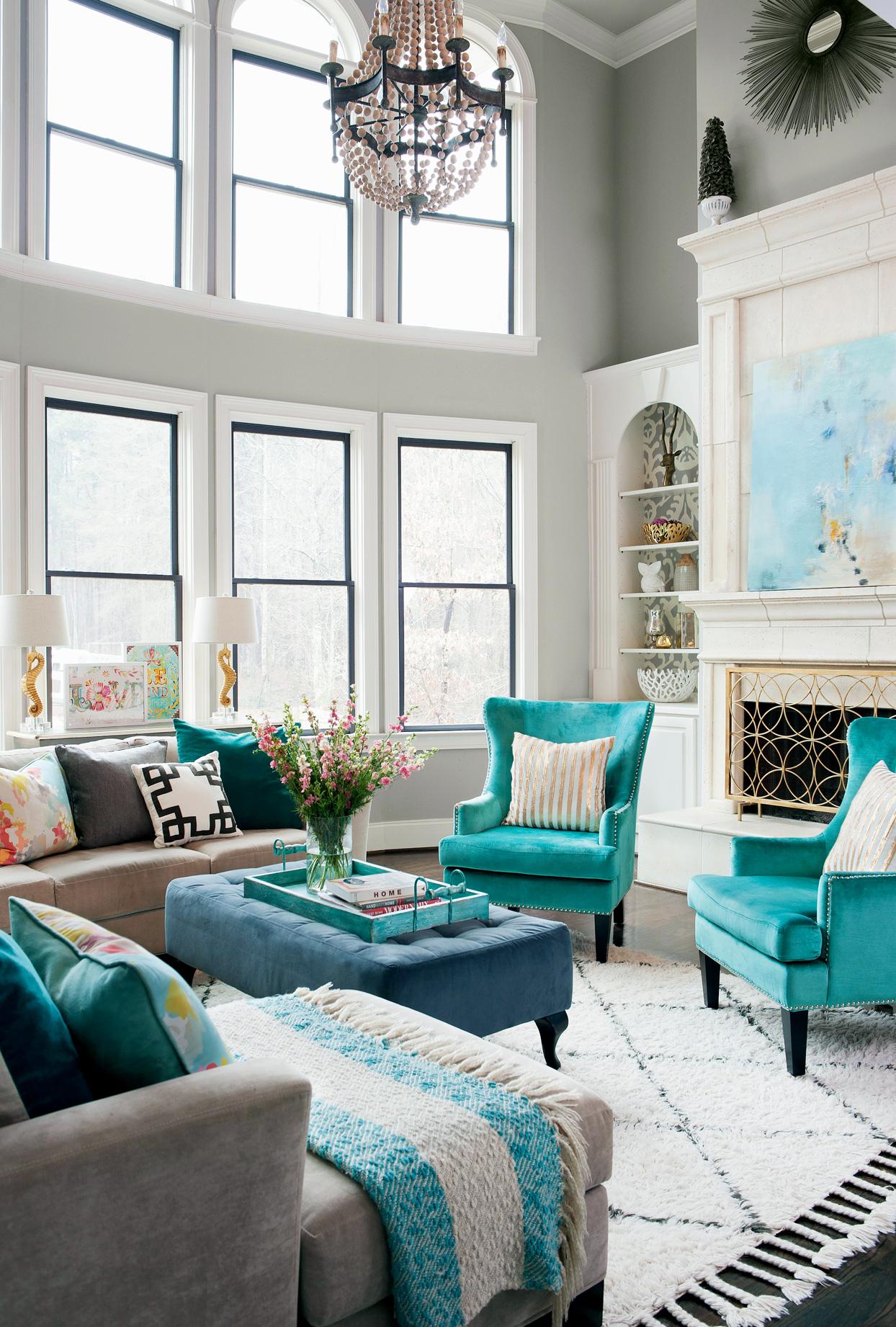 Living Room Color Schemes   goodworksfurniture