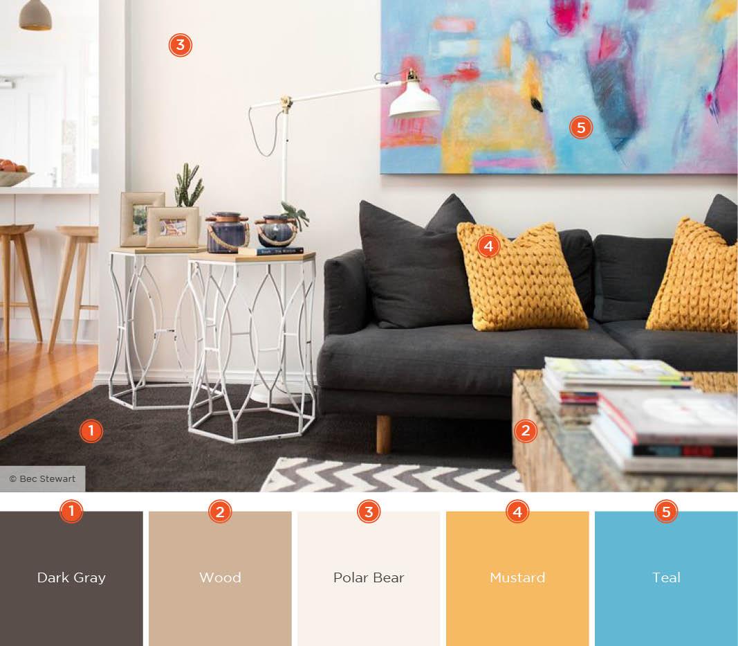 Living Room Colors Options