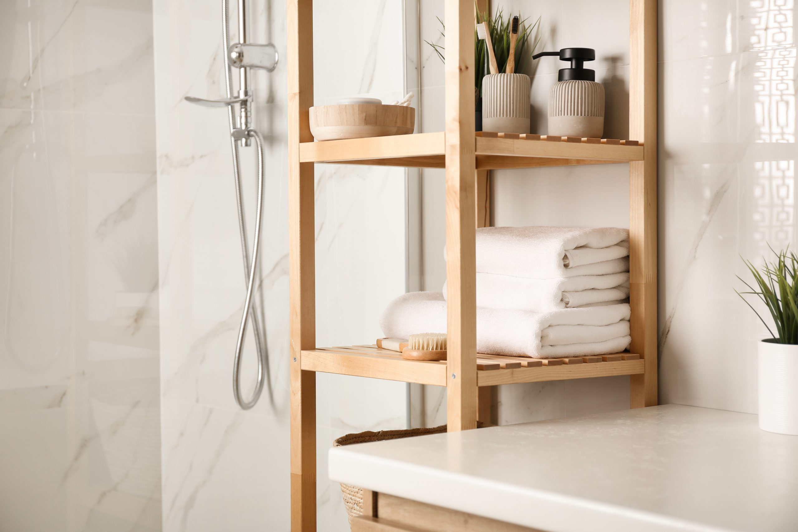 Master Bathroom Storage Cabinet Ideas