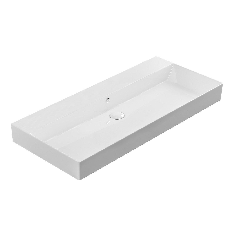 New Trough Sink Bathroom