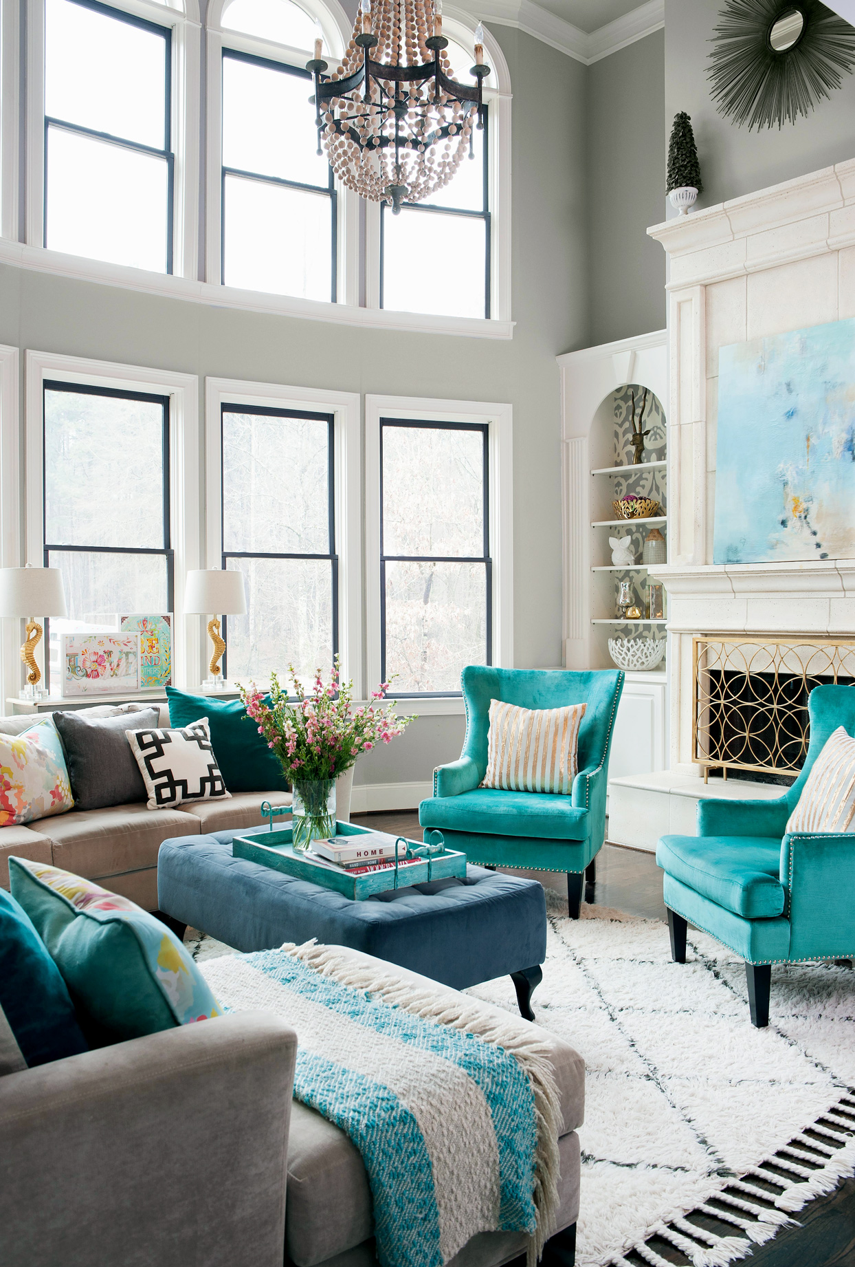 Popular Living Room Colors Schemes