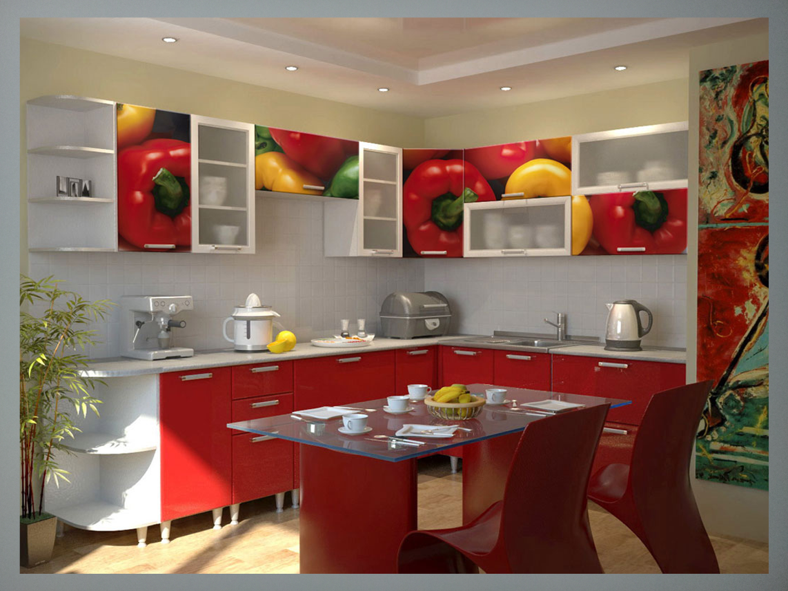 Red Kitchen Wall Paint Colors