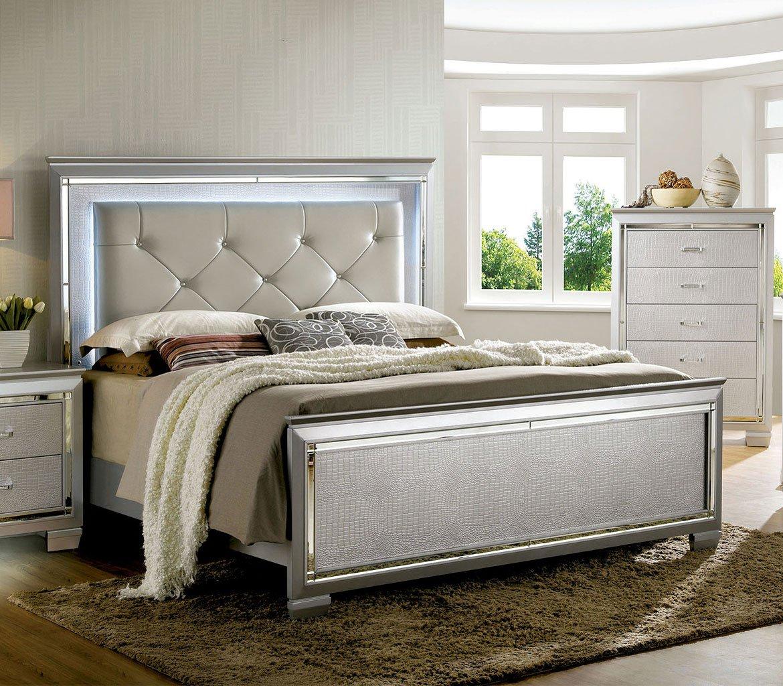 Silver Queen Bedroom Set